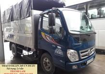 Xe tải Thaco Ollin 2.4 tấn vô thành phố, xe tải Thaco 2.4 tấn sử dụng động cơ Isuzu giá tốt nhất tại Tp. HCM