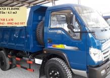 Xe ben Thaco Forland FLD490C tải trọng 5 tấn thùng 4m3/ 4 khối, xe ben Thaco Trường hải Foton 5 tấn