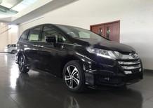 Cần bán Honda Odyssey 2.4 CVT sản xuất 2016, màu đen, nhập khẩu nguyên chiếc