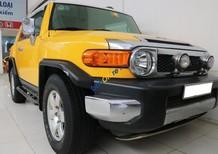 Bán Toyota Fj cruiser 4.0L AT sản xuất 2007, màu vàng, nhập khẩu