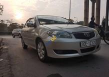 Cần bán xe cũ Toyota Vios 1.5 G đời 2006, màu vàng