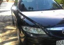 Bán ô tô Mazda 6 MT sản xuất năm 2003, màu đen, nhập khẩu
