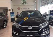 Bán Honda CR V 2.4TG sản xuất 2017, màu đen
