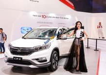 Honda CR-V 2.4TG màu trắng - 0938 933 299