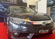 Bán Honda Civic 1.5CVT sản xuất 2017, màu đen