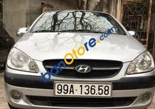 Cần bán gấp Hyundai Getz năm sản xuất 2009, màu bạc chính chủ, 265 triệu