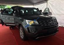 Xe Ford Explorer Limited 2.3L Ecoboost 2017 giá rẻ, màu ghi xám, hỗ trợ trả góp hơn 80% giá trị xe