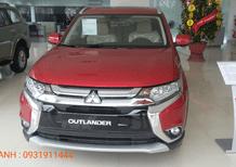 Bán ô tô Mitsubishi Outlander 2.0 năm 2018, màu đỏ, nhập khẩu giá 807 triệu, LH: Đông Anh 0931911444