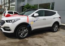 Bán Hyundai Santa Fe sản xuất 2016 màu trắng