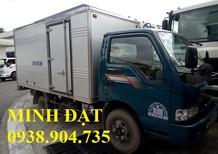Xe tải Kia 1tấn25 trả góp, xe tải Kia 1tấn9 trả góp, Thaco Kia K190 1tấn9 trả góp