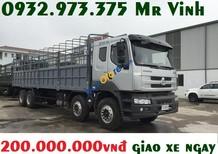 Xe Chenglong 4 chân 19 tấn nhập khẩu nguyên con - xe tải Chenglong 5 chân