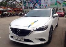 Bán xe Mazda 6 Facelift 2.5AT màu trắng, hỗ trợ ngân hàng tớI 85%, LH Kim Thanh: 0963 206 604 để được tư vấn nhanh nhất