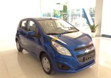 Bán xe Chevrolet Spark LS 1.2, màu xanh dương 5 chỗ dáng nhỏ gọn, LH: Huyền Chevrolet 0901027102