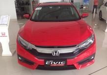 Biên Hoà - Honda Civic 1.5 Turbo 2017, màu đỏ, nhập khẩu nguyên chiếc, giá chỉ 945 triệu. Hotline 0908.438.214