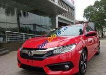 Bán Honda Civic 1.5CVT 2017, màu đỏ, xe nhập tại Honda Ô Tô Đà Nẵng