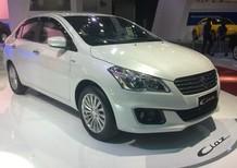 Cần bán xe Suzuki Ciaz 2017, màu trắng, nhập khẩu nguyên chiếc