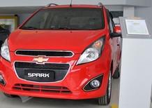 Cần bán xe Chevrolet Spark LS đời 2017, màu trắng, giá tốt
