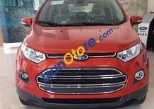 Cần bán Ford EcoSport Titanium 1.5 AT sản xuất 2017, màu đỏ, 601 triệu