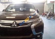Bán xe Mitsubishi Pajero 4x4 AT sản xuất 2017, màu nâu, nhập khẩu