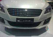 Bán xe Suzuki Ciaz sản xuất 2017, màu trắng, nhập khẩu nguyên chiếc giá cạnh tranh
