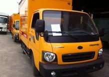 Bán xe tải Kia K190 tải trọng 1.9 tấn, Kia Fr125 tải trọng 1.25 tấn thùng mui bạt, thùng kín 2017
