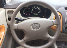 Cần bán gấp Toyota Innova 2.0G xịn  bản đủ đời 2010, màu bạc 415tr