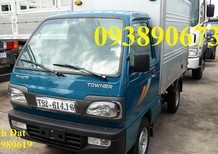 Xe tải nhẹ Towner750A 750kg, xe tải nhẹ máy xăng 650kg, xe tải nhẹ máy xăng 600kg trả góp