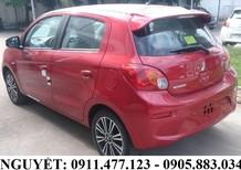 Bán Mitsubishi Mirage, màu đỏ, nhập khẩu, xe siêu lợi xăng, giá sốc nhất 345 tr