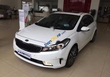 Auto bán ô tô Kia Cerato 1.6 AT đời 2017, màu trắng