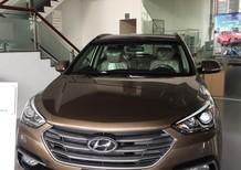 Cần bán Hyundai Santa Fe 2018, màu nâu, xe nhập HQCN. Hotline: 0905.976.950