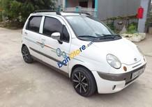 Cần bán gấp Daewoo Matiz đời 2003, màu trắng xe gia đình, 75 triệu