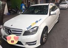 Cần bán gấp Mercedes C300 AMG sản xuất 2012, màu trắng
