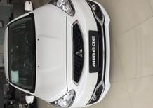 Cần bán xe Mitsubishi Mirage đời 2016, màu trắng, nhập khẩu chính hãng