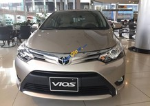Bán Toyota Vios 1.5 E CVT đời 2017, màu vàng