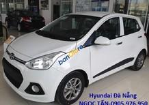 Bán Hyundai Grand i10 đời 2017, màu trắng, xe nhập nguyên chiếc. Liên hệ Hyundai Sông Hàn: 0905.976.950