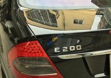 Bán xe Mercedes-Benz E200 đời 2008 màu đen, biển Hà Nội