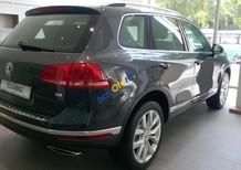 Xe gầm cao Volkswagen Touareg GP màu xám (ghi), nhập Đức, tặng 289 triệu+ bảo hiểm. LH Hương 0902608293