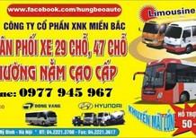 Chuyên bán xe Hyundai County 29 ghế thân dài......