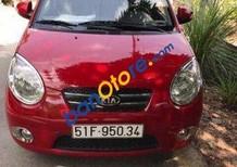 Gia đình bán Kia Morning AT đời 2009, màu đỏ số tự động, giá tốt