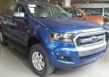 Bán ô tô Ford Ranger 3.2L AT 4x4 Wildtrak 2017, màu xanh lam, nhập khẩu