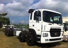 Giá bán xe tải 4 chân 18 tấn Hyundai nhập. Xe tải Hyundai nhập  HD320 4 chân 18 tấn hai cầu mới. Liên hệ giá tốt