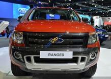 Bán Ford Ranger 3.2L AT 4x4 Wildtrak đời 2017, màu đỏ, nhập khẩu