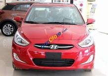 Bán Hyundai Accent 1.4AT đời 2017, màu đỏ