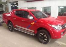 Bán xe Mitsubishi Triton 2.4L 4x4AT đời 2017, màu đỏ, xe nhập