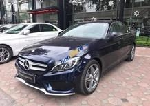 Cần bán gấp Mercedes C300 AMG đời 2016, màu xanh lam