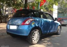 Bán xe Suzuki Swift sản xuất 2014, màu xanh lam chính chủ