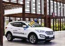 Hyundai BG cần bán xe Hyundai Santa Fe máy dầu 2018, màu trắng, bản đặc biệt. Trưởng phòng KD: Mr Trung 0941.367.999