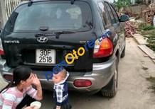 Cần bán xe cũ Hyundai Santa Fe Gold đời 2003, màu đen
