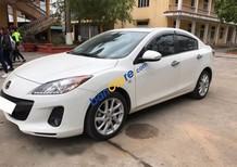 Cần bán xe cũ Mazda 3 S sản xuất 2013, màu trắng còn mới