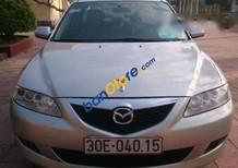 Cần bán gấp Mazda 6 năm sản xuất 2003, màu bạc, giá tốt